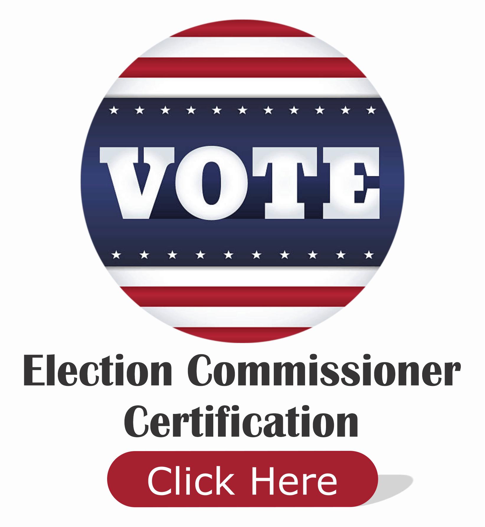 Commissioner Certification